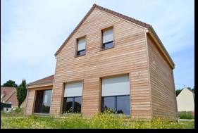 Constructeur maison ossature bois maison bbc ile de france