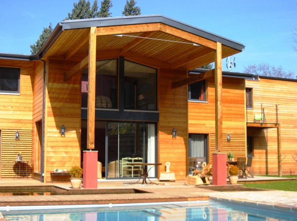 Constructeur maison en bois aquitaine for Constructeur en bois