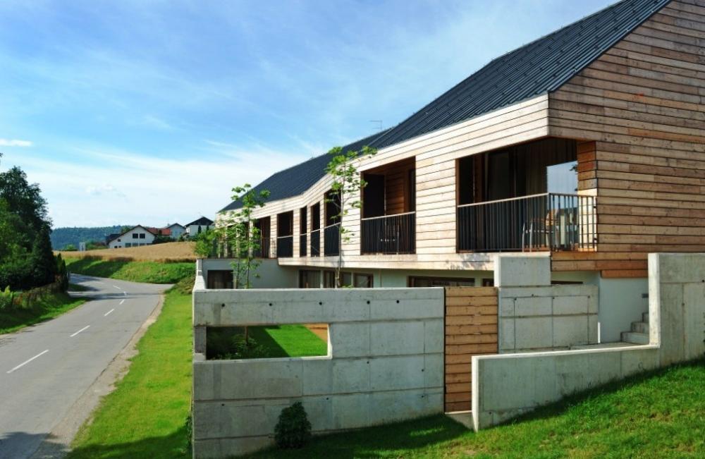 Architecture bois Aquitaine  Construction maison bois Ile  ~ Maison Bois Aquitaine