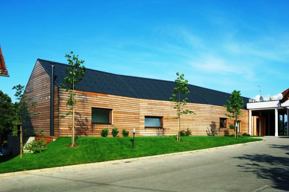 Architecture bois Aquitaine  Construction maison bois IledeFrance  Cons