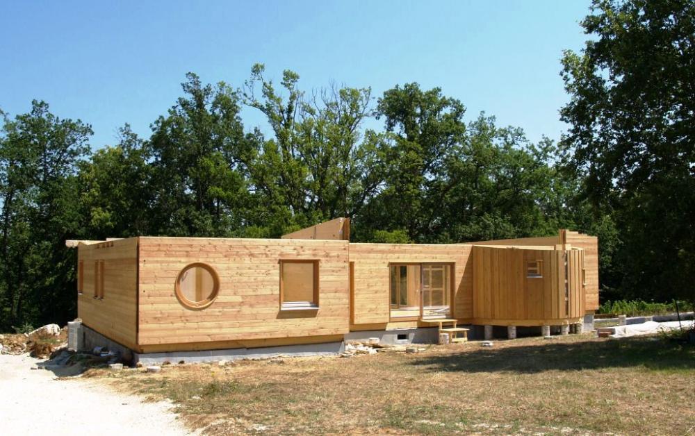 Architecture bois Aquitaine  Construction maison bois Ile  ~ Materiaux Bois Aquitaine
