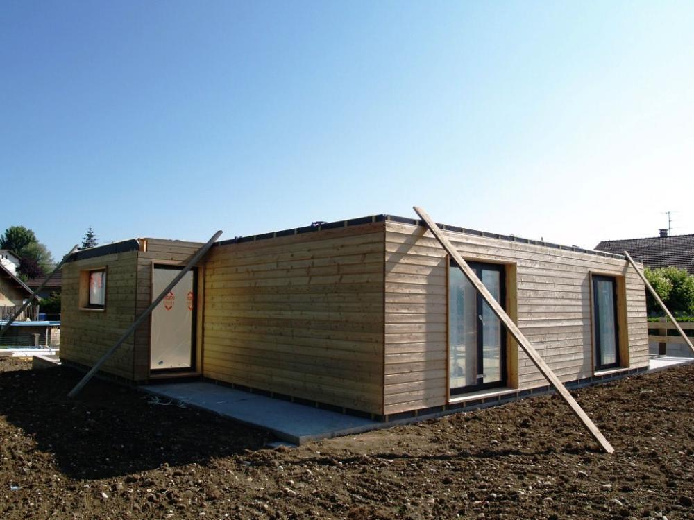 Constructeur maison bois ile de france maison moderne for Constructeur maison bois 52