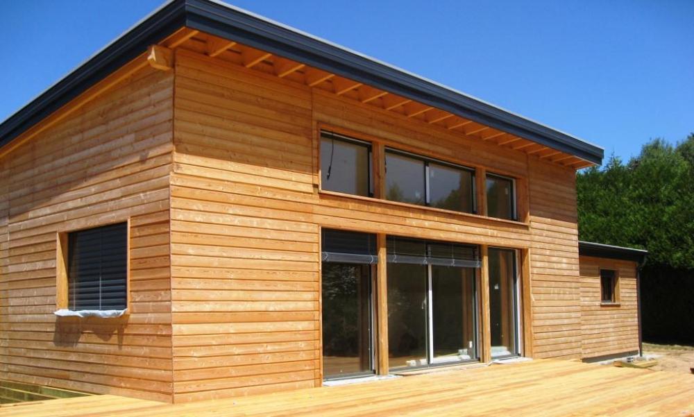 Architecture bois aquitaine construction maison bois ile for Constructeur maison limousin