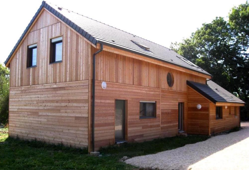 Architecture bois aquitaine construction maison bois ile for Construction maison architecte ou constructeur