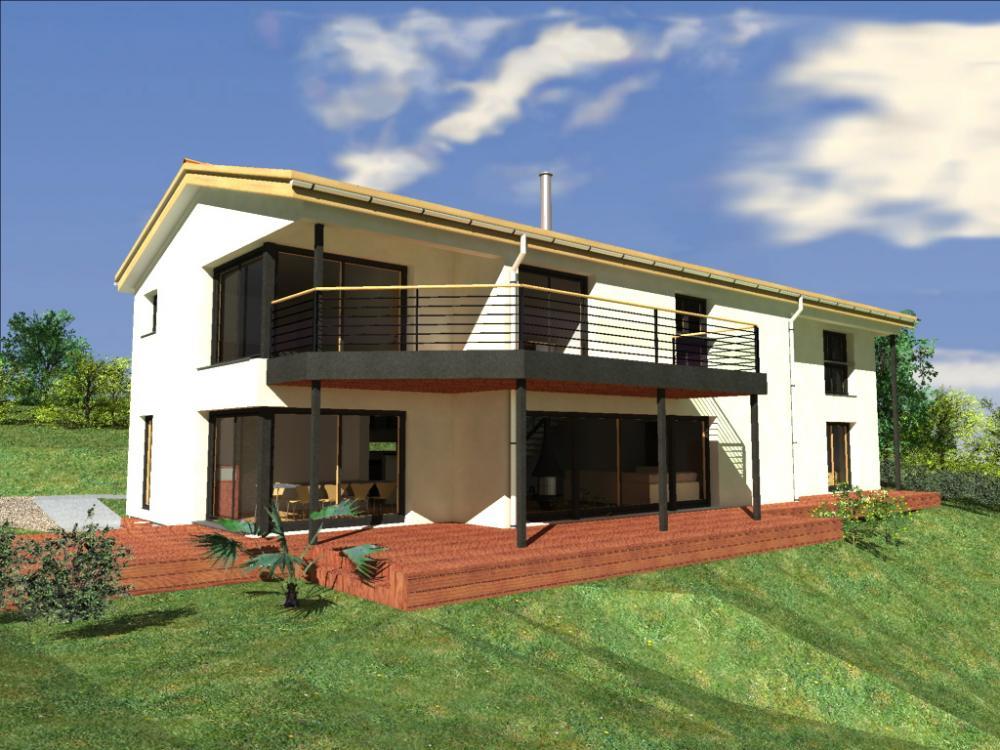 Architecture bois aquitaine construction maison bois ile for Constructeur maison bois 77