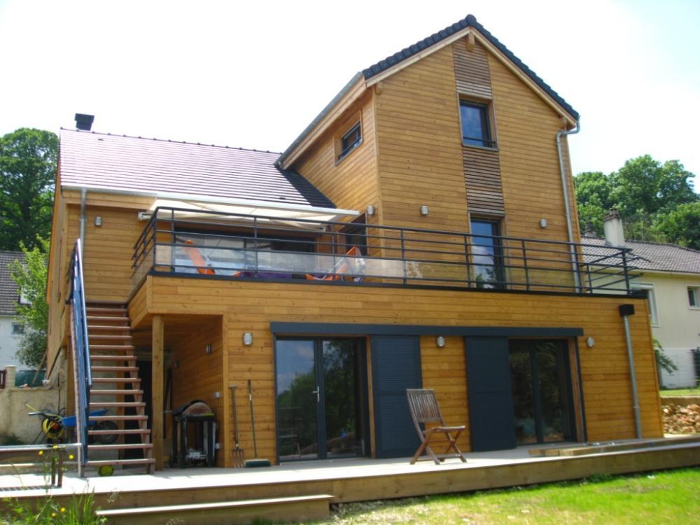 architecture bois aquitaine construction maison bois ile de france constructeur maison bois